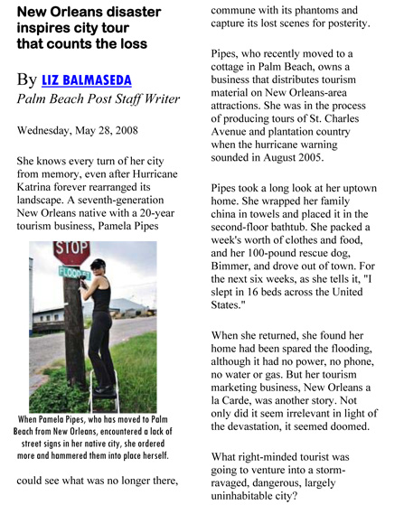 Microsoft Word - ___PalmBeach_20080528_New Orleans disaster insp
