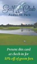 Audubon Golf Club - Front Cover
